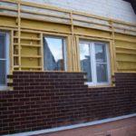 отделка клинкером деревянный дом